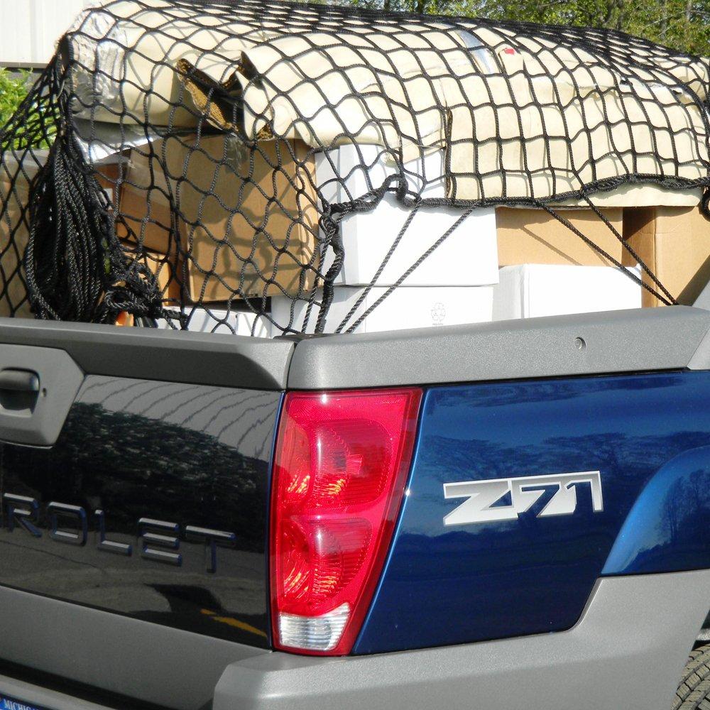 Dual Layer Mictuning Rete di Maglia Universale per Auto Sedili Barriera Divisorio per Cani Animali Bambini per Sicurezza Rete del Carico Supporto per Borsa Telefono Comestici