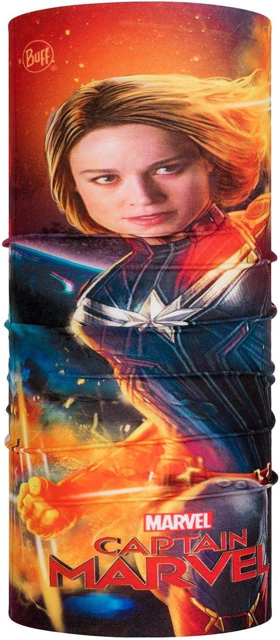 Multi Buff Ms Marvel Tubular Original Junior Unisex ni/ños Talla /única