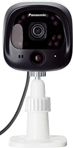 Panasonic KX-HNC600W Outdoor Camera for Smart Home Monitoring System (White)
