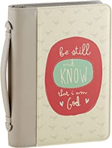 Creative Brands Bible Book Cover, Be Still and Know That I Am God