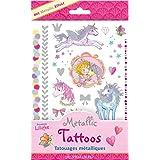 Tatouages métalliques Princesse Lillifee