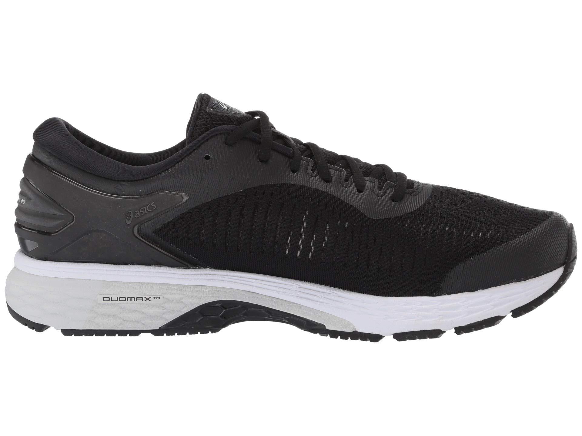 ASICS Gel Kayano 25 Men's Running Shoe, Black/Glacier Grey, 6.5 D US by ASICS (Image #8)
