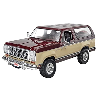 Revell '80 Dodge Ramcharger Plastic Model Kit: Toys & Games