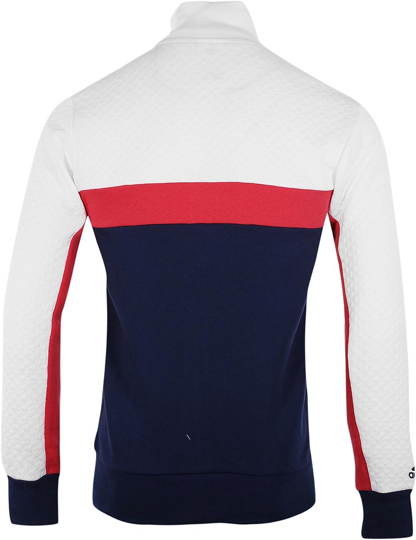 adidas Chaqueta de chándal Francia Rugby Azul/Blanco, Hombre, Azul ...