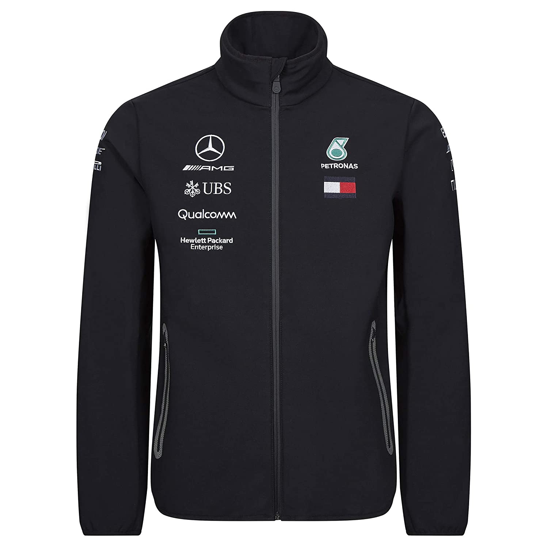 Mercedes-AMG Petronas Motorsport 2019 F1 Team Softshell Jacket Black