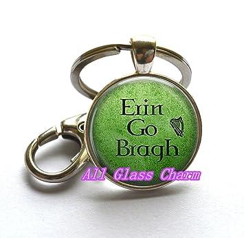 Beautiful llavero, Erin Go Bragh Llavero Clave Anillos ...
