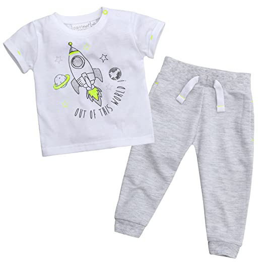 Amazon com: Babytown Newborn Baby Boys Space Themed Outfit