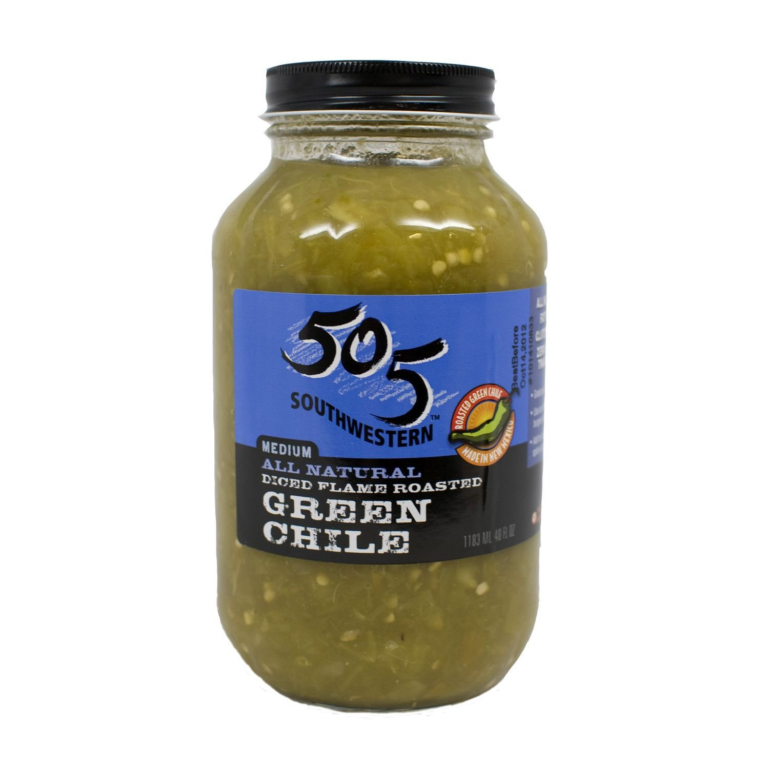 505 Southwestern Diced Green Chiles 40 oz
