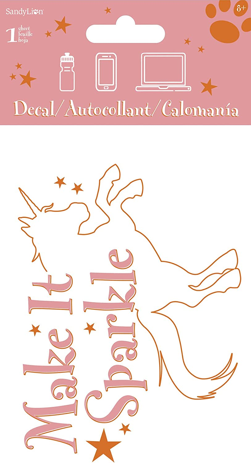 Trends International Make It Sparkle 4 Color Decal 4 X 8