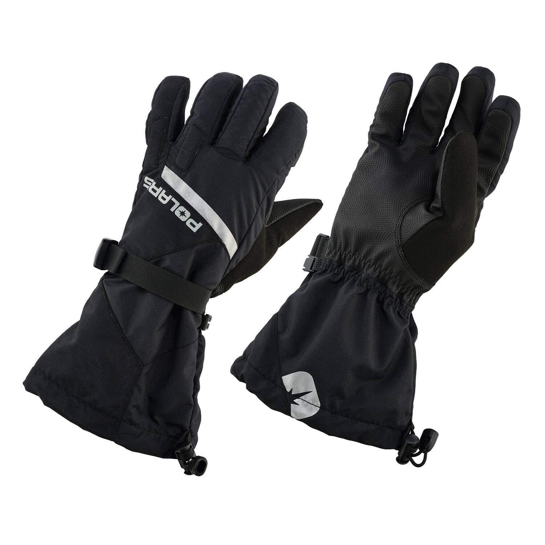 Black Polaris Mens Level 2 Trail Glove with Anti-Slip Technology XL