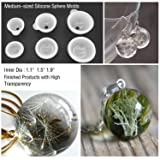Sphere Silicone Resin Molds LET'S RESIN Round