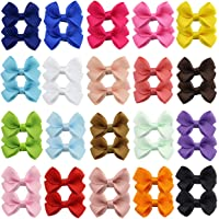 40 lazos para el pelo de 6,3 cm para bebés, niñas, adolescentes, niños, bebés y niños pequeños