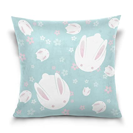 Amazon ALAZA Throw Pillow Case Decorative Cushion Cover Square Gorgeous Cute Decorative Bed Pillows