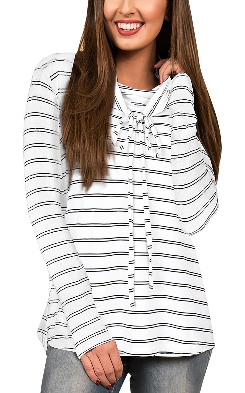 Girls Long Sleeves Pullover Shirt Cowl Neck Lightweight Soft Casual Blouse Top Aivtalk