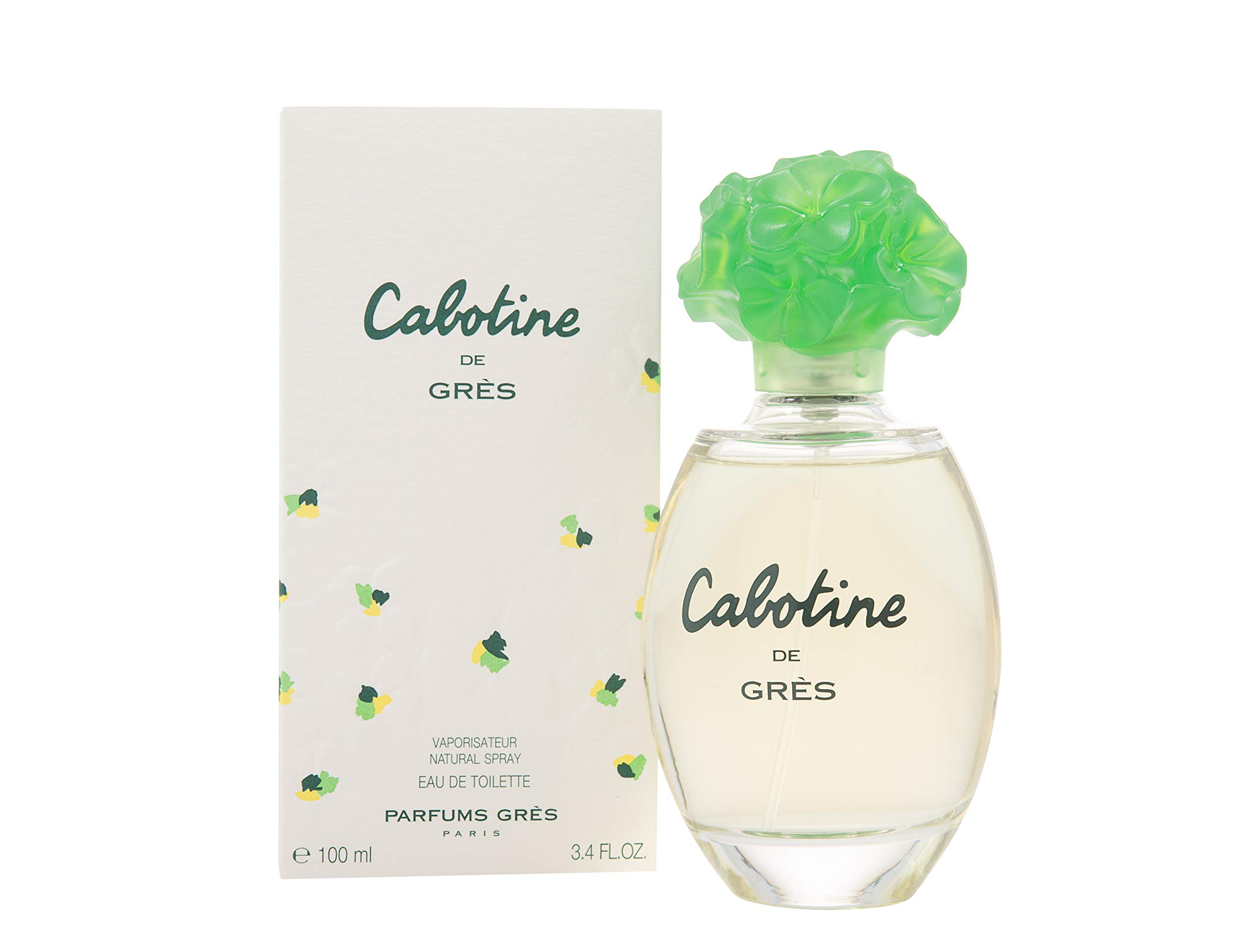 Cabotine Women Eau De Toilette Spray by Gres, 3.4 Ounce by Gres