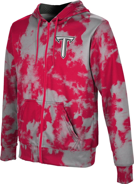 Grunge ProSphere Troy University Boys Full Zip Hoodie