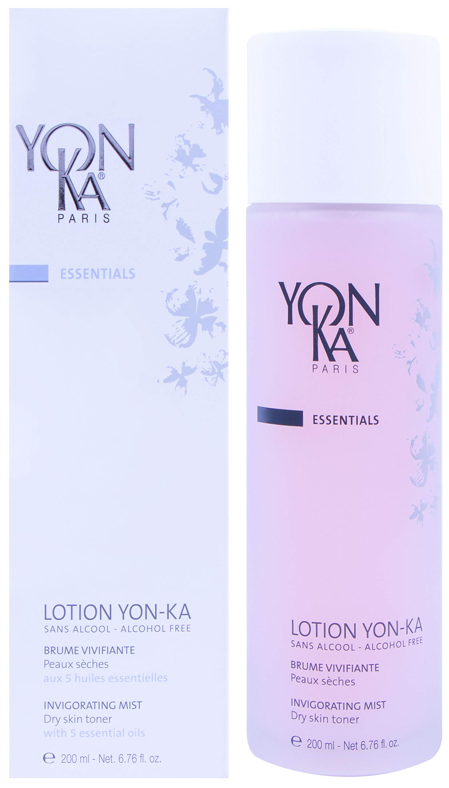 YON-KA ESSENTIALS LOTION PS Invigorating Mist, (6.7 Ounces / 200 Milliliters) - Dry Skin Toner That Soothes, Energizes and Tones Your Complexion by Yonka