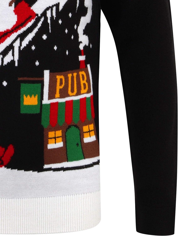 "Tokyo Laundry Herren Pullover /""Merry Christmas/"""