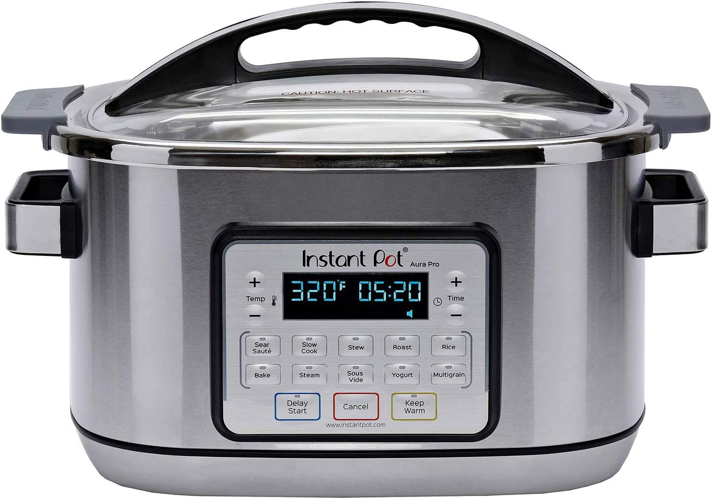 Instant Pot Aura Pro Multi-Use Programmable Slow Cooker with Sous Vide, 8 Quart