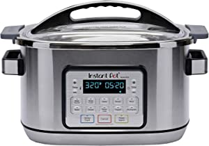 Instant Pot Aura Pro Multi-Use Programmable Slow Cooker with Sous Vide, 8 Quart, No Pressure Cooking Functionality