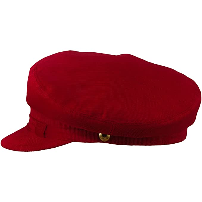 611f416b380aa sterkowski John Lennon estilo pana Cap - Rojo -   Amazon.es  Ropa y  accesorios