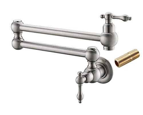 Havin HV1003 Pot Filler Folding Faucet Brushed Nickel