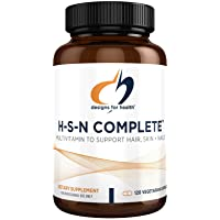Designs for Health H-S-N Complete Capsules - 1000mcg Biotin, MSM + 500mg NAC for...