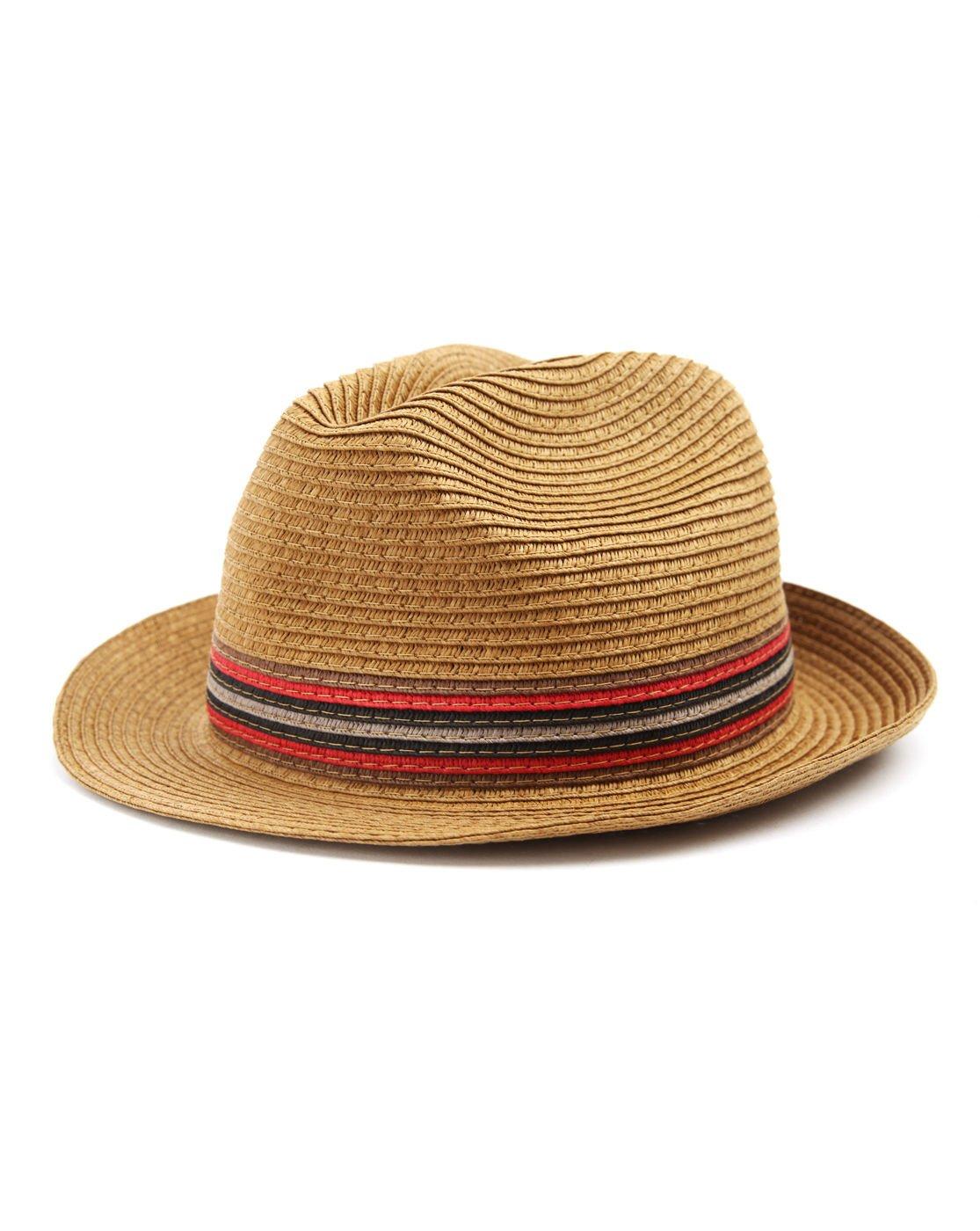 4b7013d11d5746 Ted Baker Hats - Men - Beige Straw Hat - S|M: Amazon.co.uk: Sports &  Outdoors