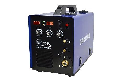 MIG-MAG/máquina de soldadura MMA 200 A