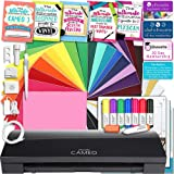 Silhouette Cameo 3 Limited BLACK Edition Bluetooth Educational Bundle Oracal Vinyl, Guides, Class, Membership and More