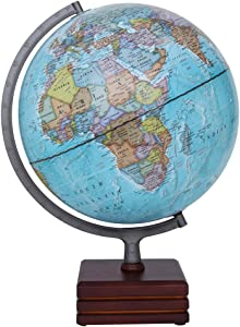 Waypoint Geographic Aviator II Illuminated Desktop Globe, 12