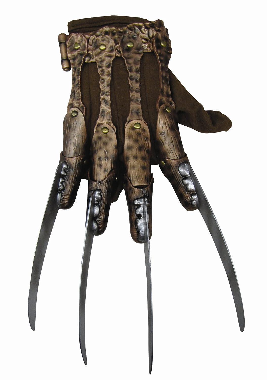 amazon com nightmare on elm street deluxe freddy krueger glove
