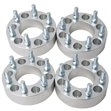 Amazon Com 4pc 1 25 Thick Hubcentric Wheel Adapters 6x4 5 To 6x5