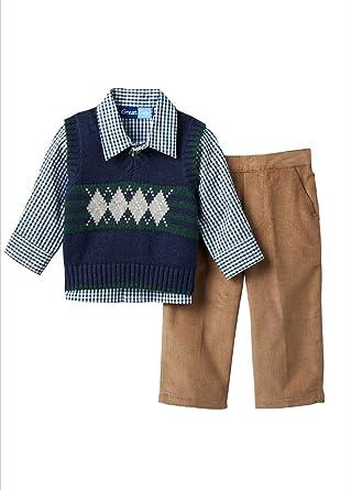 ab3c7a417 Amazon.com  Great Guy Baby Boys Argyle Sweater Vest
