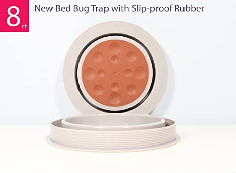 Amazon Com Bed Bug Traps And Insect Interceptor Monitor Trays 8ct