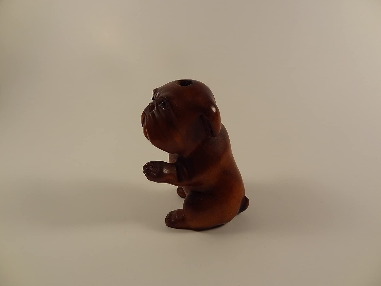 Amazon.com: Boje Netsuke perro: Home & Kitchen