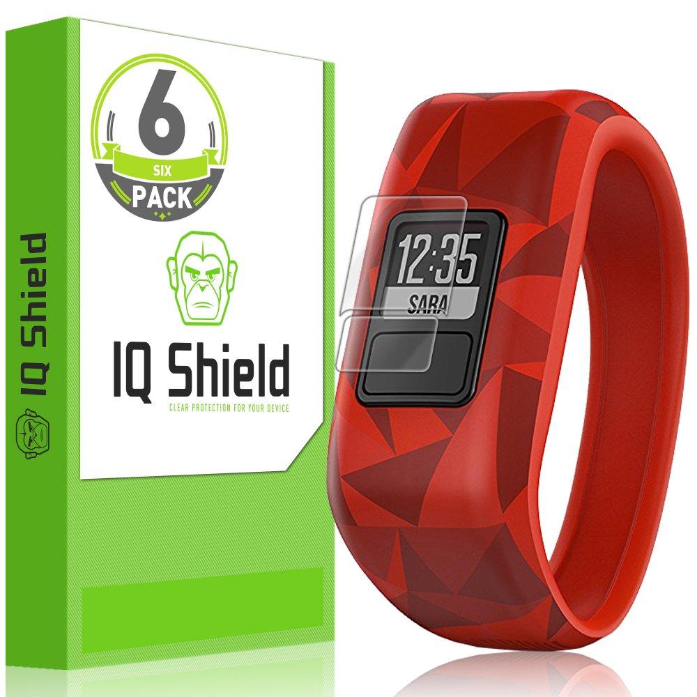 IQ Shield Screen Protector Compatible with Garmin Vivofit Jr (6-Pack) Anti-Bubble Clear Film