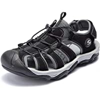 6301525db4f1 ODOUK Mens Sport Hiking Sandals Athletic Outdoor Summer Closed Toe Beach  Sandals