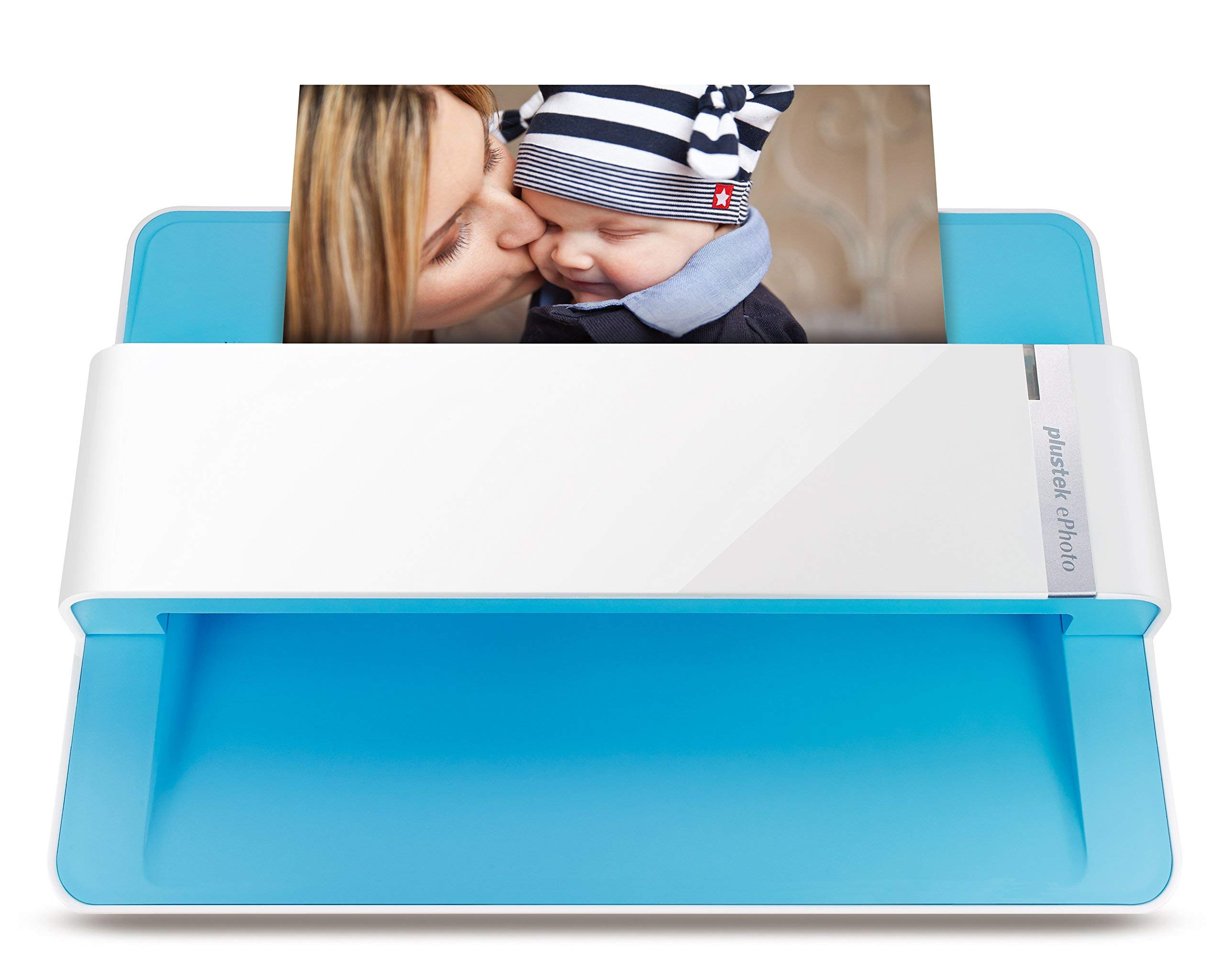 Plustek Photo Scanner - ephoto Z300, Scan 4x6 Photo in 2sec, Auto Crop and Deskew with CCD Sensor. Support Mac and PC (Renewed)