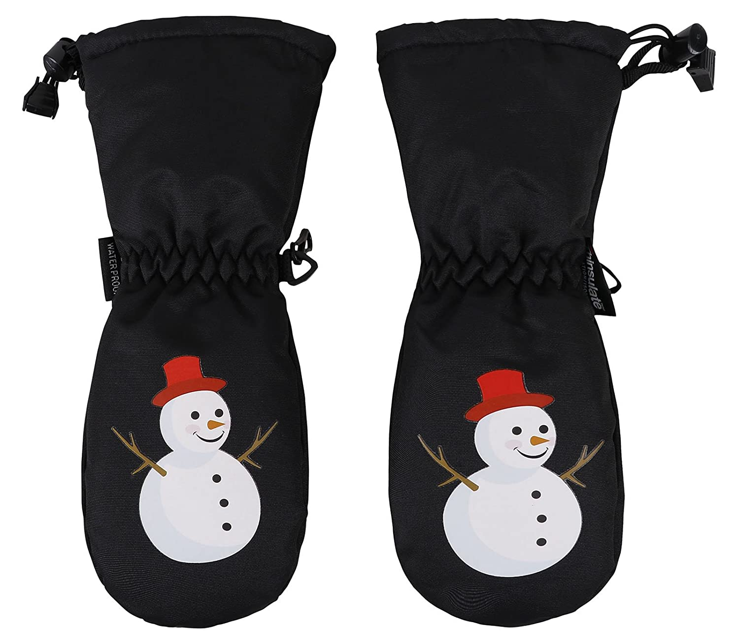 ANDORRA Kids Premium Weather-proof Thinsulate Snow Mittens