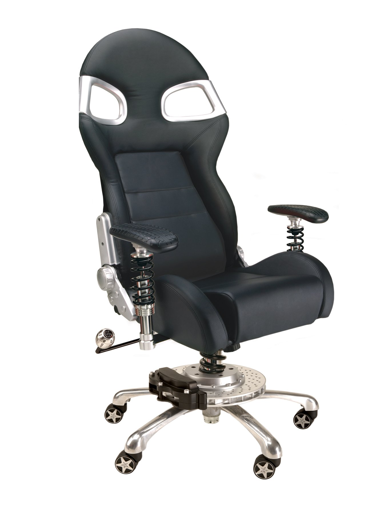 PitStop Furniture F08000B LXE Office Chair, Black by Pitstop Furniture