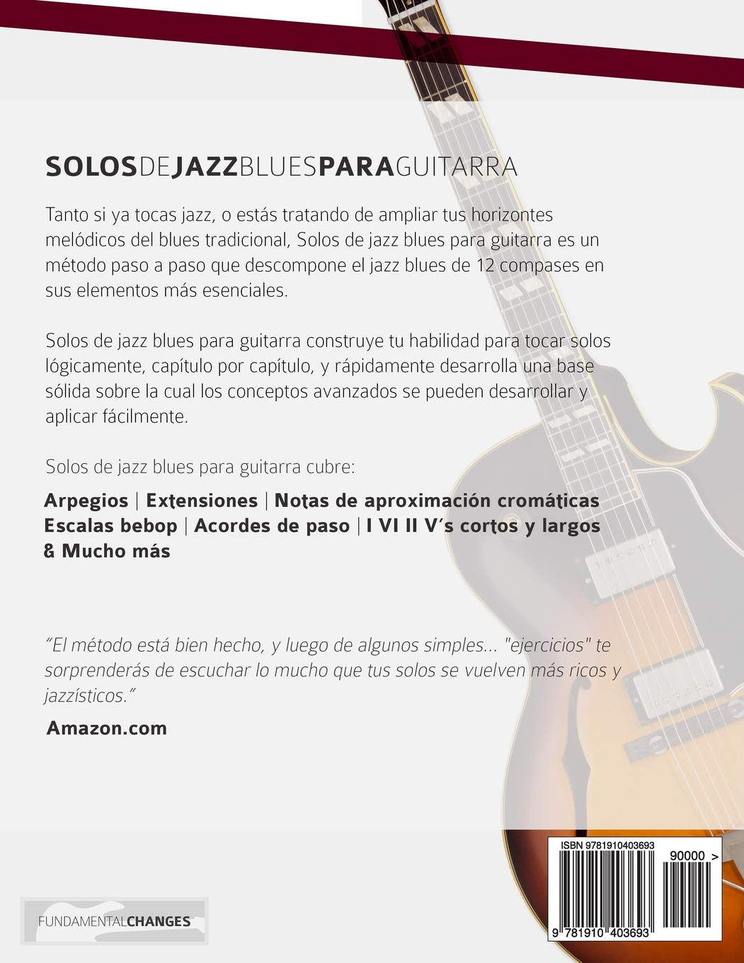 Solos de jazz blues para guitarra: Amazon.es: Mr Joseph Alexander, Mr Gustavo Bustos: Libros