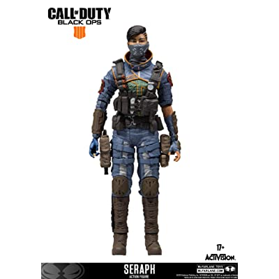 FANCYTHAT & SCIFI PLANET Call of Duty Seraph Specialist Action Figure McFarlane: Toys & Games