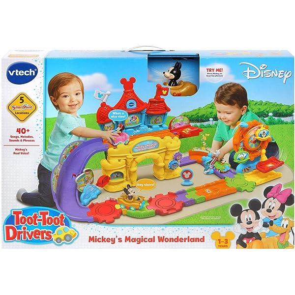 VTech Disney Toot-Toot Drivers Mickey Happy House Birthday Gift AU Stock