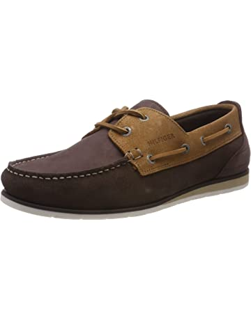 24d18578f1fe62 Tommy Hilfiger Suede Nubuck Boatshoe, Chaussures Bateau Homme