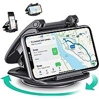 Eono by Amazon - 360 Graden Rotatie Telefoonhouder Auto, Solide Zuignap Dashboard Phone Holder, Compatibel met Sat Nav…