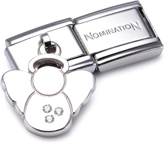 Nomination Composable Womens Bead Classic Charms 925 Silver Angel
