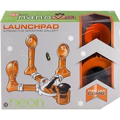 HEXBUG nano V2 Neon Launchpad: Toys & Games