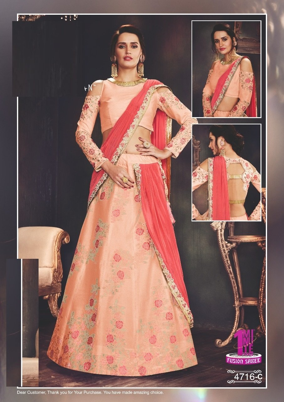 New Arrival Wedding Bollywood Designer Stylish Lehenga Choli Dupatta Custom to Measure Muslim Eid 2521 by ETHNIC EMPORIUM (Image #3)