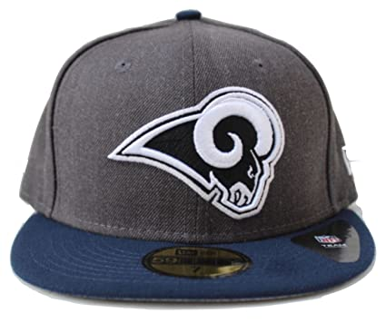 New Era NFL Los Angeles Rams Shader Melt 2 Tone Fitted 59fifty Cap NewEra  59Fifty  575f345bc